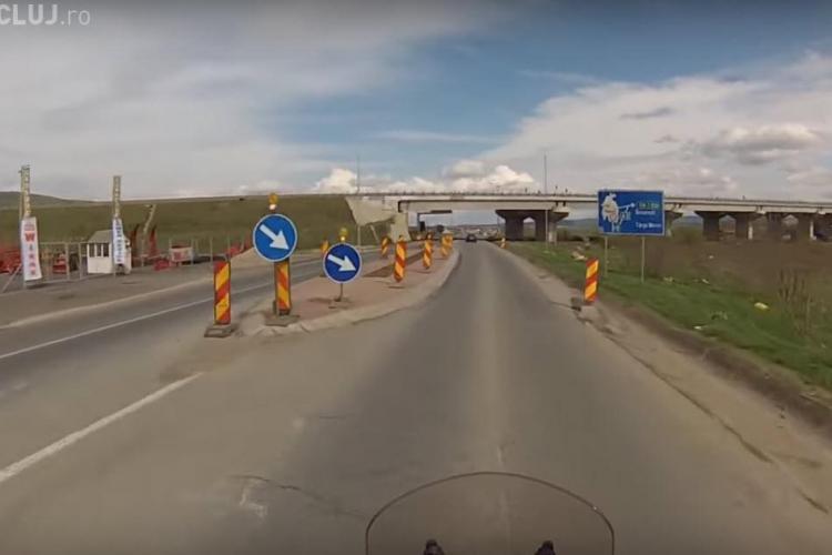 """Noaptea MINȚII! Compania de Drumuri renunță la """"insulele"""" de pe DN 1 și alte drumuri naționale - VIDEO"""