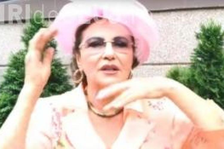 Ce remediu anti-gușă are Irina Loghin. Te pălmuiești singur - VIDEO viral