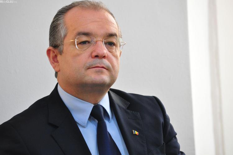 Emil Boc: Dezvoltarea imobiliară a Clujului este blocată. Sunt proiecte de 200 - 300 de mil. de euro