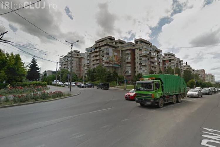 Lucrări sens giratoriu Calea Mănăștur - str. Câmpului