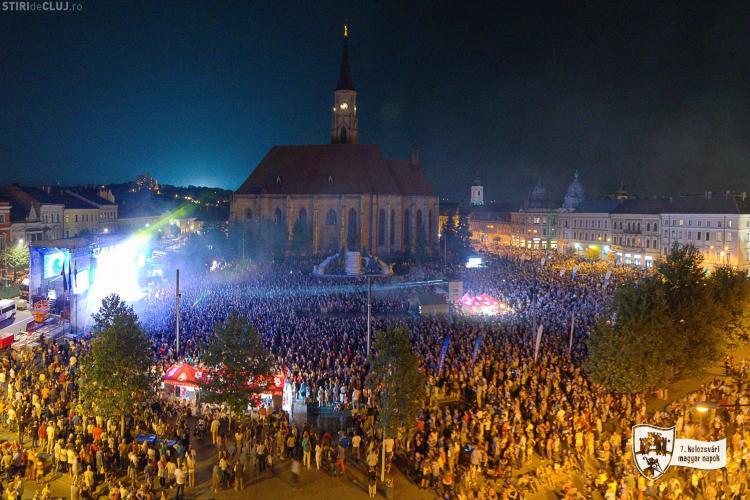 Zilele Culturale Maghiare: Când se poate urca în Turnul Bisericii Sfântul Mihail