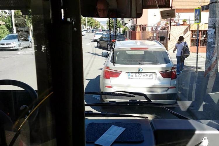 La Cluj-Napoca, se oprește încă în stațiile de autobuz - VIDEO
