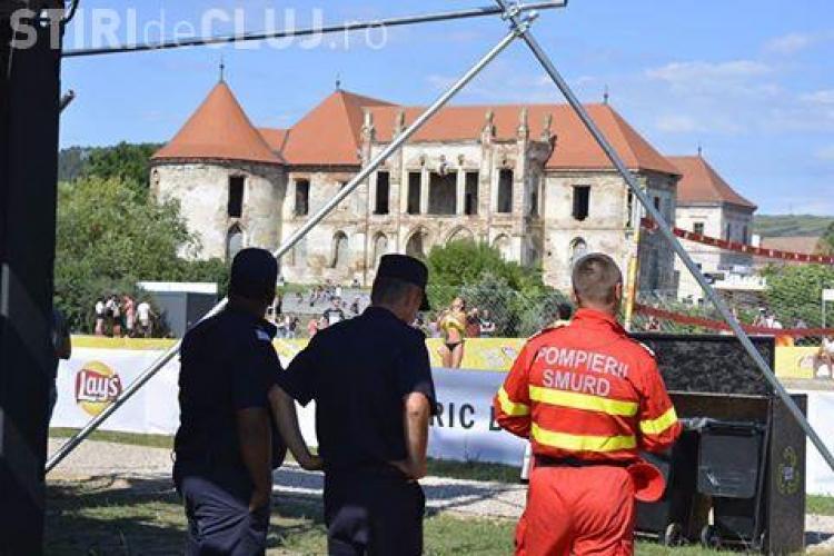 Peste 550 de persoane au avut nevoie de ajutor medical la Electric Castle. Când s-au înregistrat cele mai multe cazuri