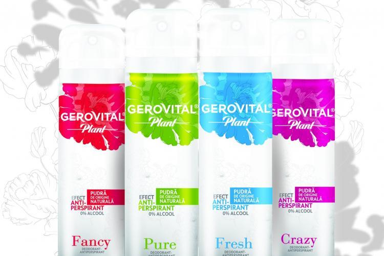 Farmec dezvoltă categoria de deodorante prin introducerea unei noi game fără clorhidrat de aluminiu, sub brandul Gerovital (P)