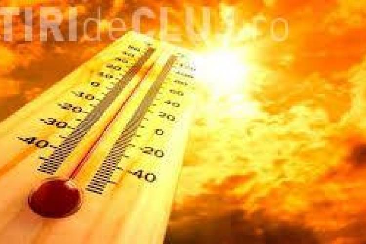 Val de căldură în toată România! Clujul este sub COD PORTOCALIU de caniculă
