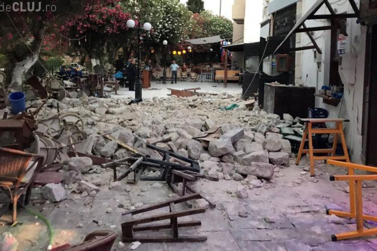 Stațiuni din Turcia și Grecia afectate de un cutremur puternic. Două persoane au murit și alte 200 au fost rănite