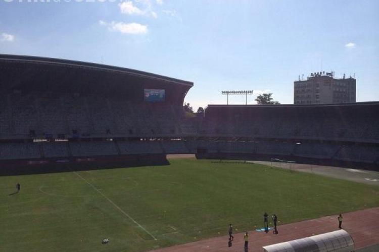 CJ Cluj: Gazonul de pe Cluj Arena afectat în proporție de 5% de Festivalul UNTOLD