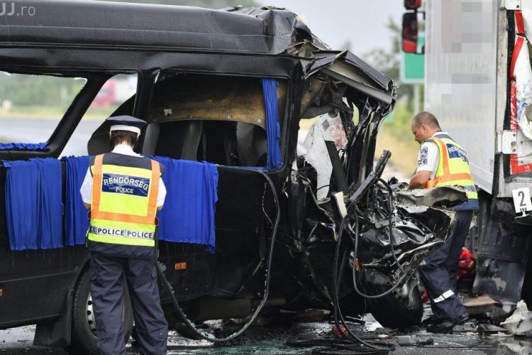 Accident grav lângă de Vama Borş: Trei români au murit și 6 sunt răniţi