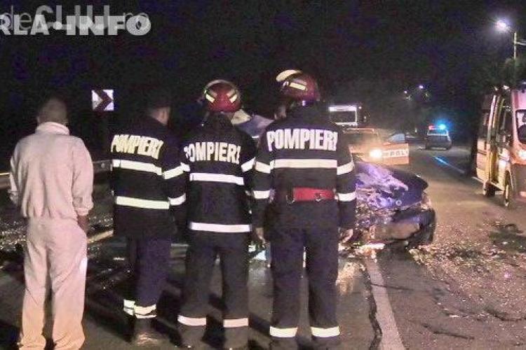 CLUJ: Accident mortal pe centura Gherla! O persoană a murit, iar alte două sunt grav rănite VIDEO