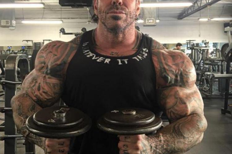 Bodybuilder -ul Rich Piana a murit în urma unei supradoze