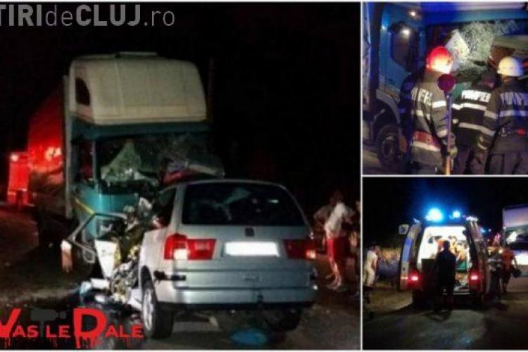 Tragedie pe drumul Dej - Baia Mare! Un copil și doi adulți au murit într-un accident rutier FOTO