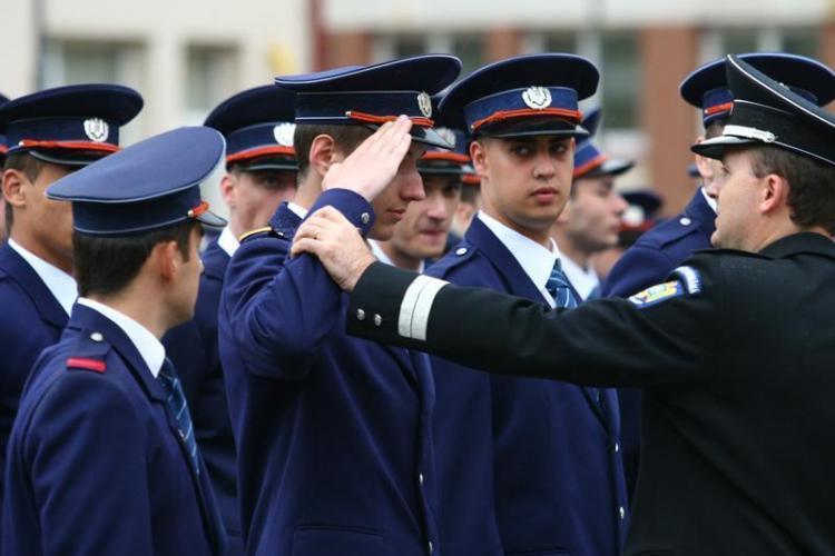 Cluj: Absolvenții cei mai buni de la Școala de Poliție, fraieriți și trimiși să lucreze la TF
