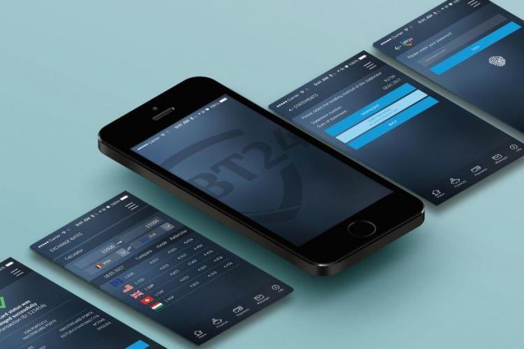 Banca Transilvania a modernizat BT24 Mobile Banking şi pagina de accesare a BT24