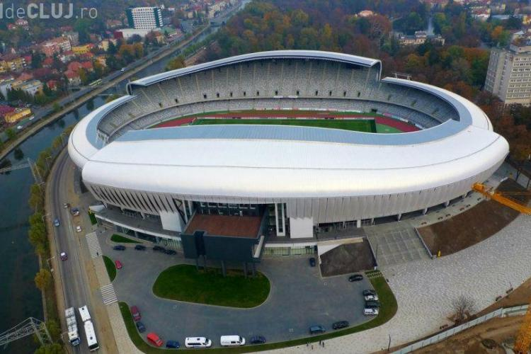 Stadionul Cluj Arena a intrat în faliment