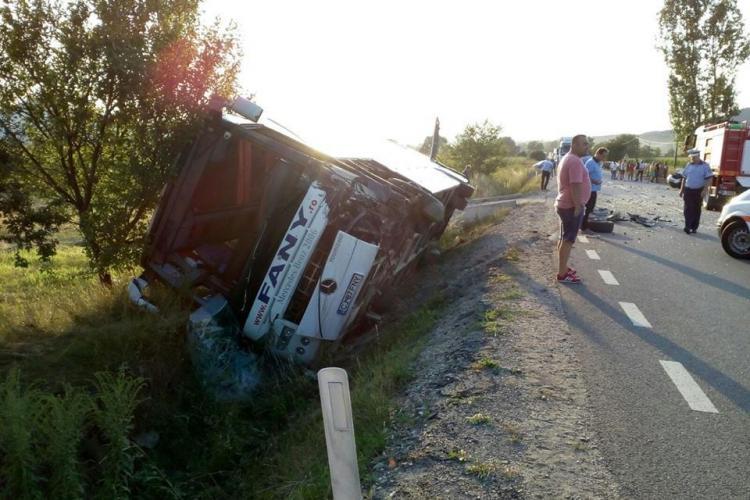 Fany susține că experiența șoferului lor a limitat rănirea gravă a pasagerilor