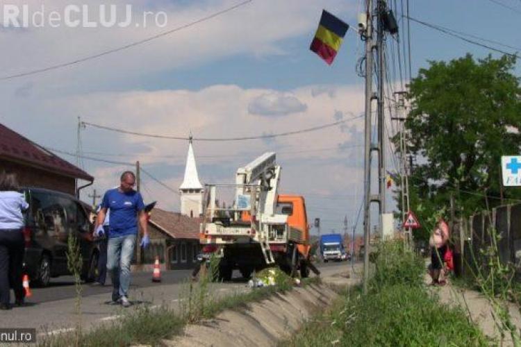 CLUJ: Accident de muncă mortal! Un bărbat s-a electrocutat - VIDEO
