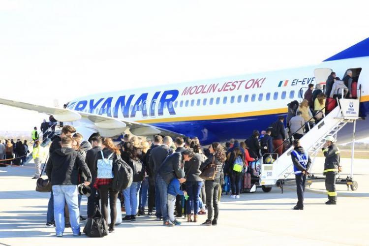 Ryanair lansează bilete de avion pentru mai puțin de 3 euro