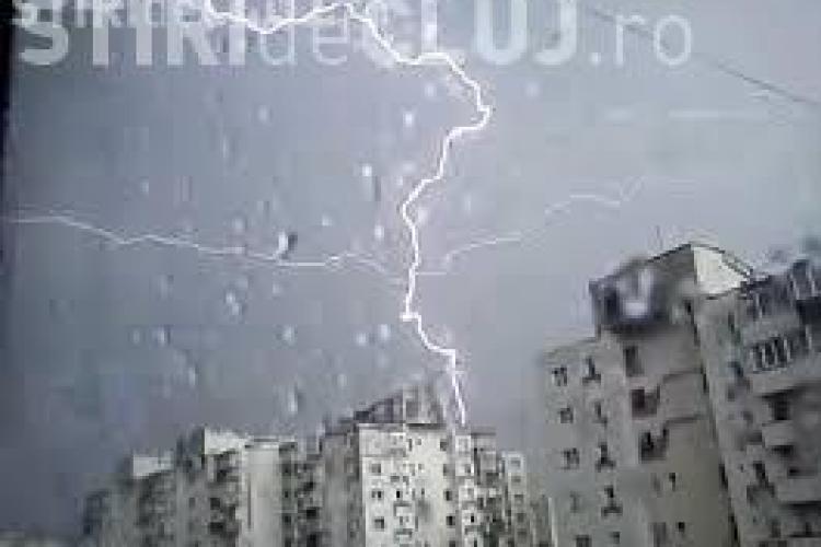 Ploi la Cluj din această seară. Ce anunță meteorologii