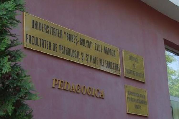 Cluj 2017 - ADMITERE FACULTATEA DE PSIHOLOGIE