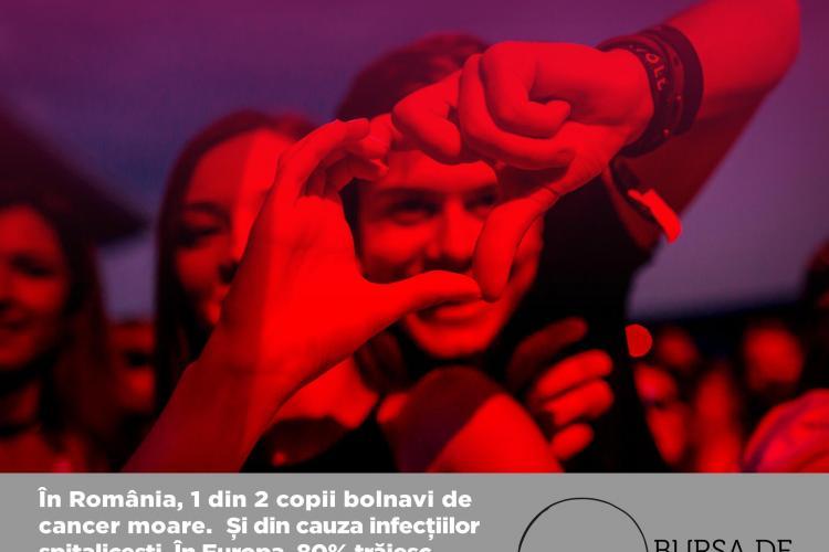 Dăruiește viață la UNTOLD! Vezi cum poți ajuta copiii bolnavi de cancer de la Cluj