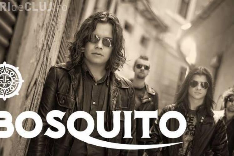 Bosquito cântă la Cluj, joi seara, la zece ani de Janis Club