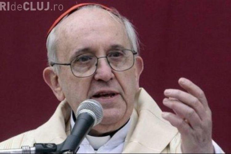 """Papa Francisc, despre schimbările climatice: Suntem niște NEGHIOBI!"""""""