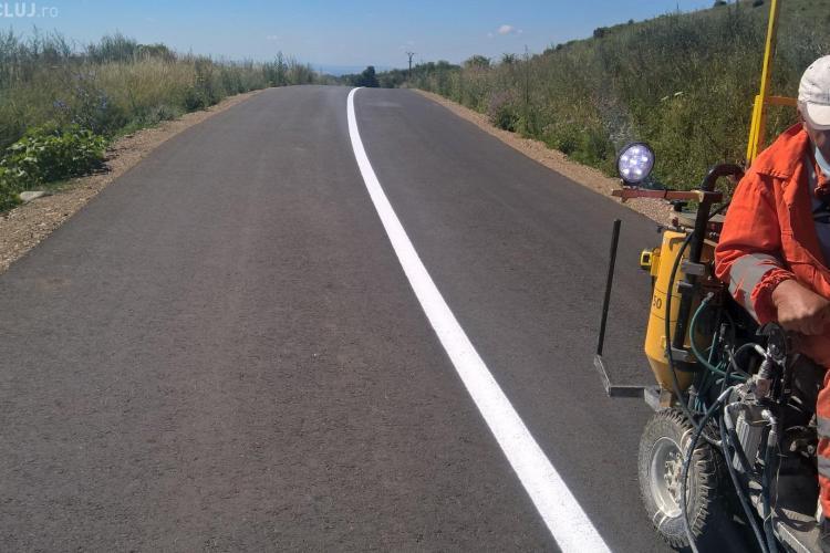 Atenție șoferi! Se fac lucrări de marcaje rutiere pe mai multe drumuri judeţene