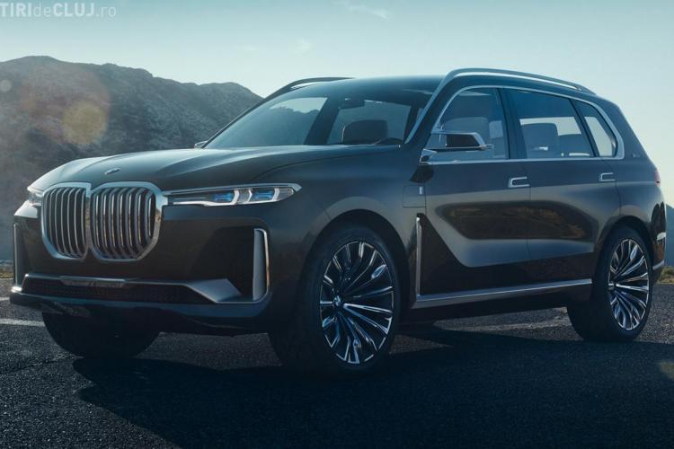 Primele imagini cu BMW X7, cel mai mare SUV al constructorului german - FOTO