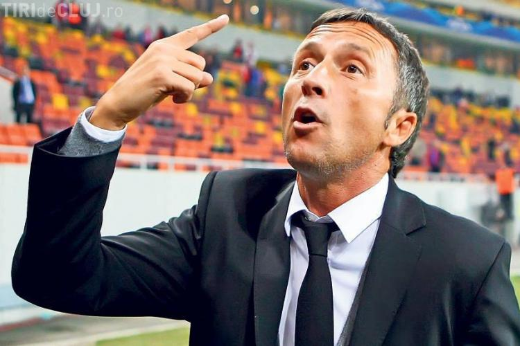 """CFR Cluj - FCSB 1-1. Mihai Stoica l-a atacat dur pe antrenorul CFR-ului: """"Eu ştiu multe şi nu prea mint!"""""""