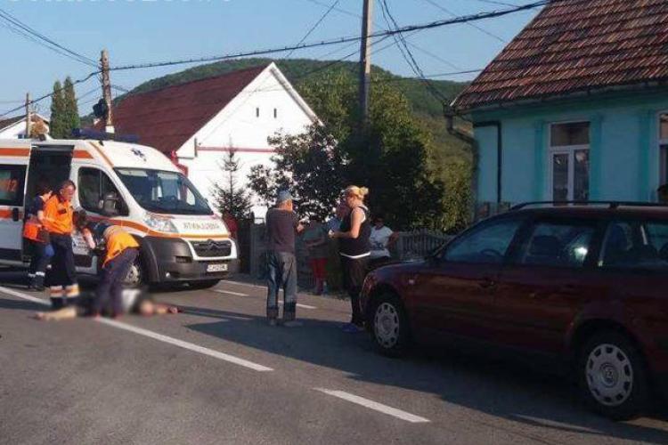 CLUJ: Accident mortal la Viile Dejului. O femeie a fost spulberată în timp ce traversa strada neregulamentar VIDEO
