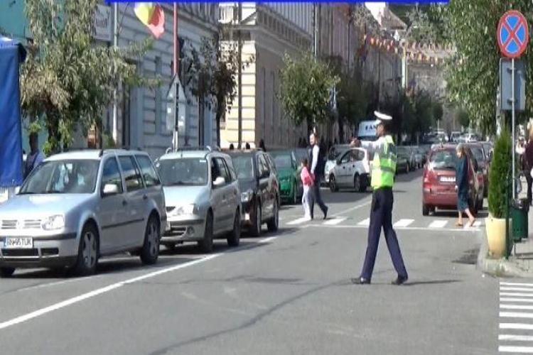 CLUJ: Peste 120 de amenzi aplicate în doar 3 ore, la Dej. Zeci de șoferi au rămas și fără permis