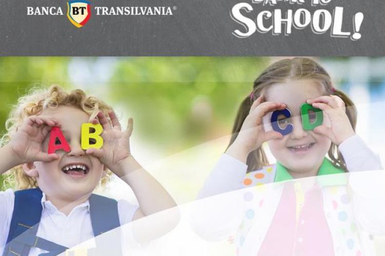Banca Transilvania lansează campania de shopping bancar online: Bank to School - pentru cei mari şi cei mici