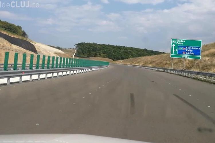 Cluj: A testat autostrada MUZEU, de la Gilău la Nădășelu. E aproape gata, dar va rămâne închisă - VIDEO
