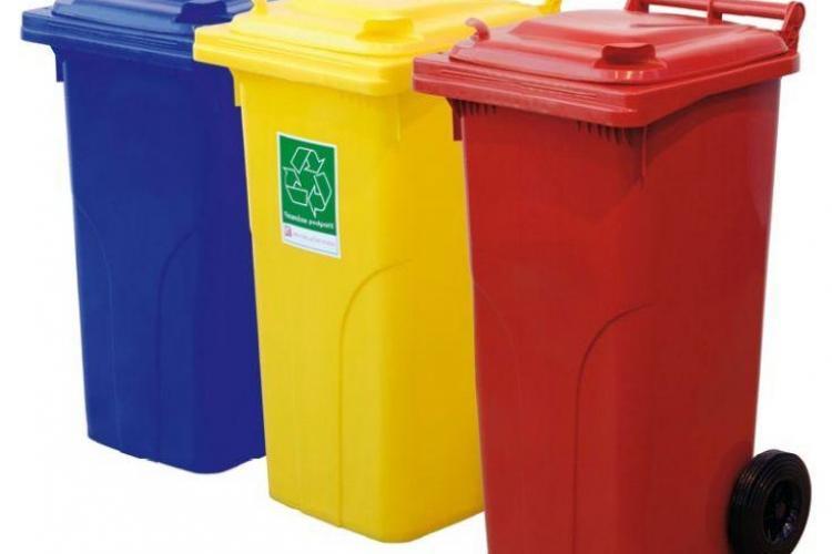 Model de colectare a deșeurilor, unic în România. Vor fi pubele cu cipuri şi se va plăti cât se aruncă la gunoi