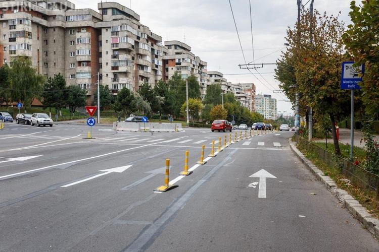 Cât au costat amenajările rutiere din Cluj-Napoca. Acestea vor salva traficul - FOTO