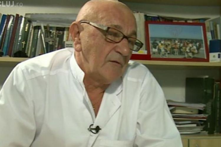 A murit profesorul Aurel Bizo, fostul șef al Colegiului Medicilor Cluj