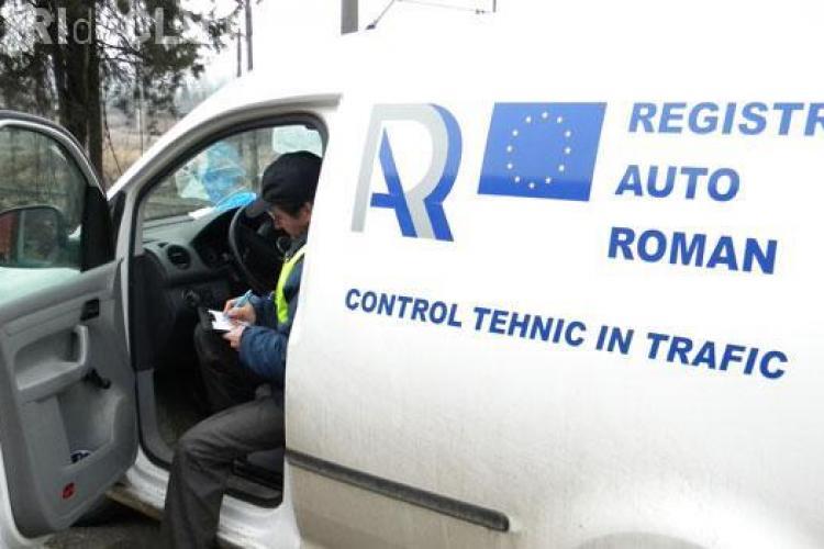 """Controale RAR Cluj în trafic. Câte """"sicrie"""" pe roți au fost depistate"""