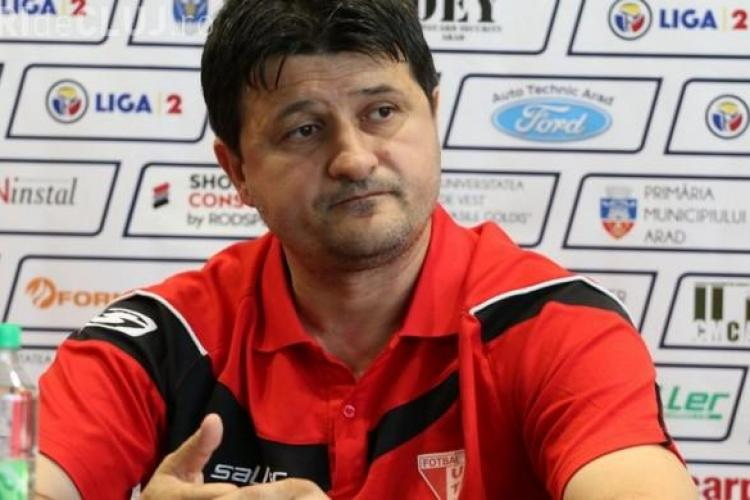 Falub a fugit de la UTA! Cel mai probabil va prelua U Cluj