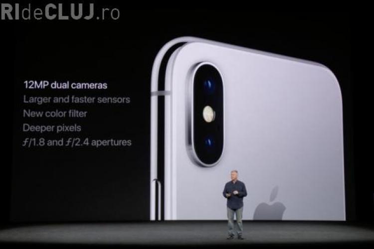 A fost lansat mult așteptatul iPhone X. Vezi cum arată și cât va costa VIDEO