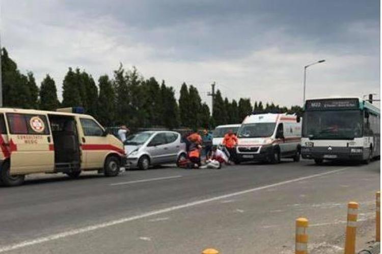Accident grav la Metro Cluj. Tânăr spulberat pe trecerea de pietoni