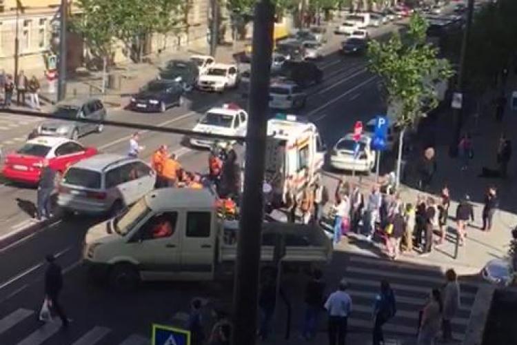 Accident MORTAL pe strada Horea! Pieton lovit pe trecerea de pietoni: Cerem degeaba semafor! - VIDEO