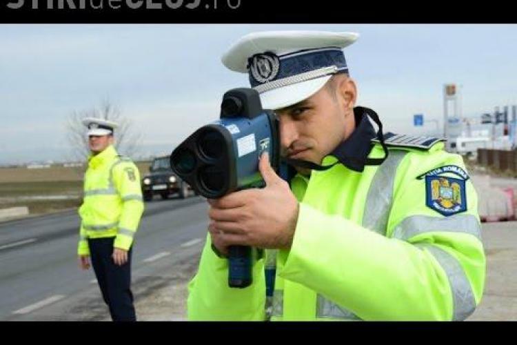 Florești: Pistol radar cu laser folosit pentru vitezomani