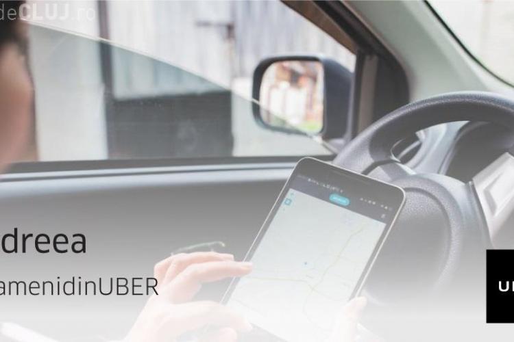 #OamenidinUBER: Andreea conduce cu UBER pentru a ajuta copiii