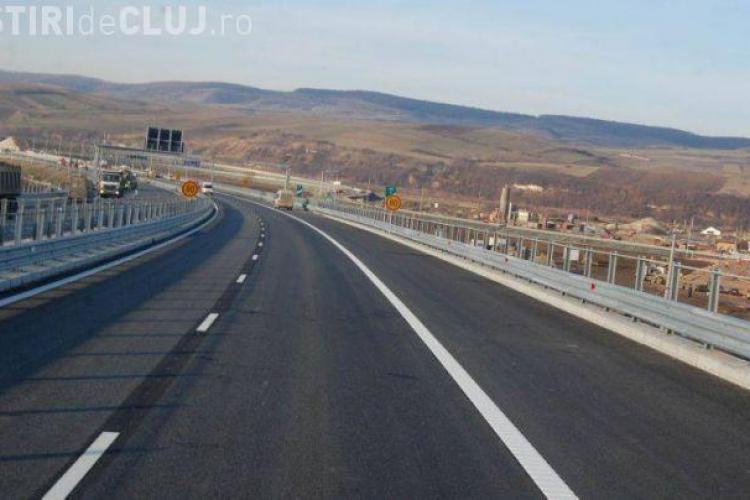 ATENȚIE! Traficul va fi restricționat timp ce mai multe zile pe autostradă, între Câmpia Turzii și Turda