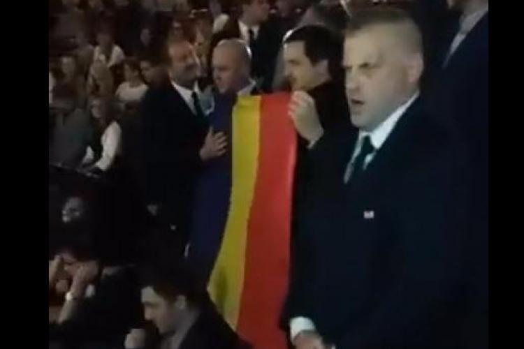 """Scandal la Opera Cluj! Naționaliștii au cântat """"Deșteaptă-te române"""" în timpul unui imn în arabă - VIDEO"""