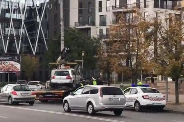 Nesimțirea sancționată la Cluj-Napoca. Student de la Științe Economice pus la punct - VIDEO