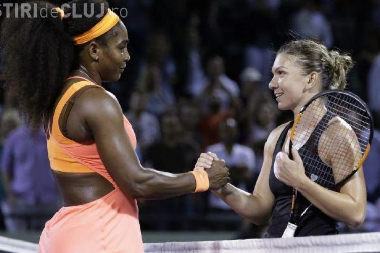 Serena Williams i-a scris Simonei Halep