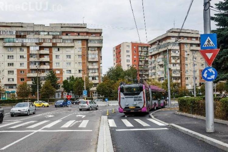 Sensul giratoriu de pe Câmpului / Calea Mănăștur va fi definitiv. Nu se știe ce va fi cu trecerile de pietoni