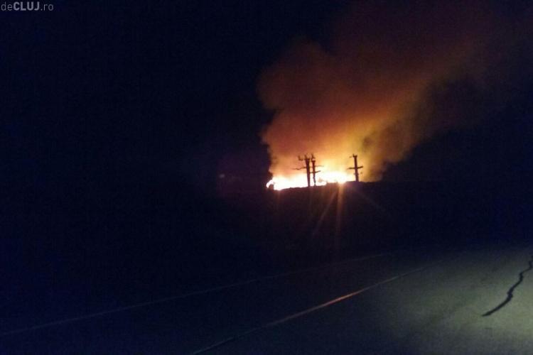 Rampa de gunoi de la Pata Rât a luat foc / UPDATE: Comunitatea locală este afectată - VIDEO