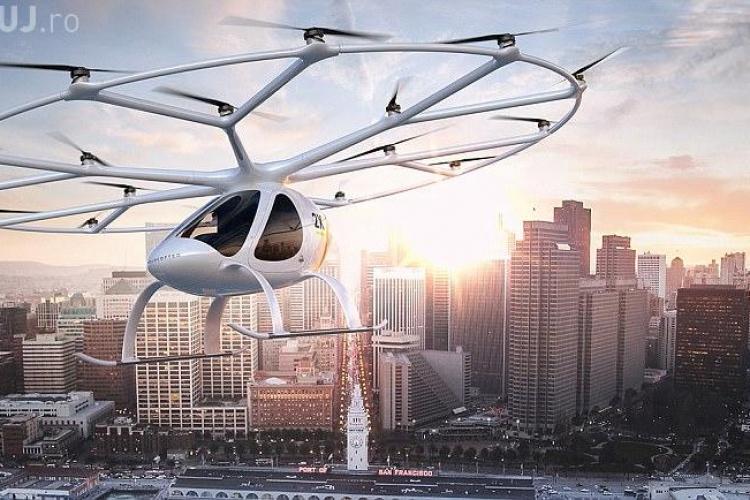 În Dubai a fost prezentat primul taxi aerian autonom din lume - VIDEO